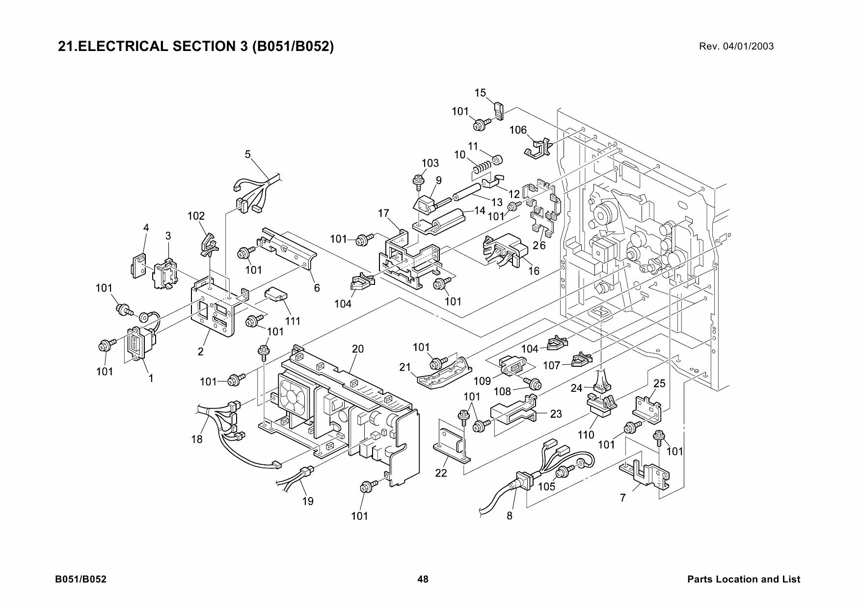 Ricoh ac104 printer